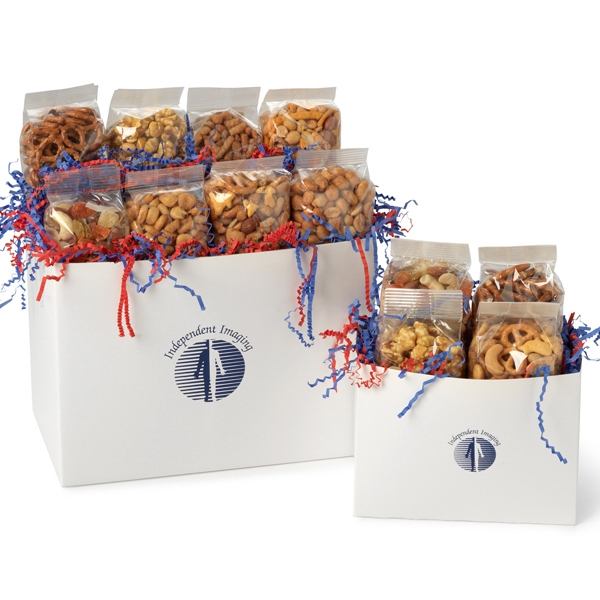 Promotional Large Snack Lovers Solid Color Gift Box