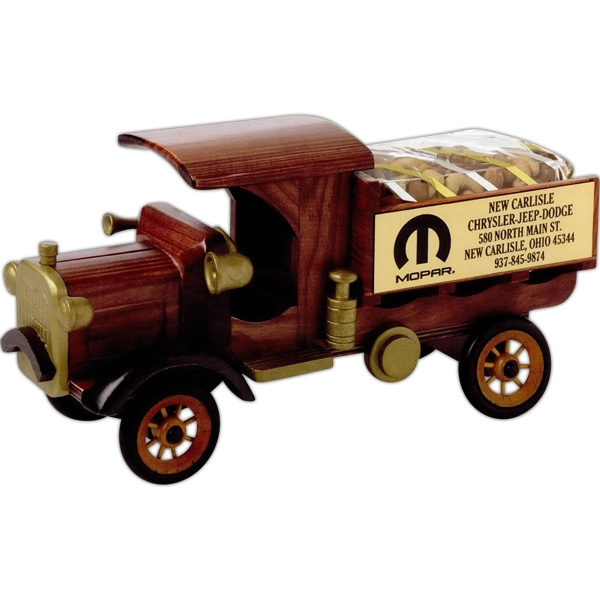Promotional Cinnamon Almonds in Nostalgia Delivery Truck