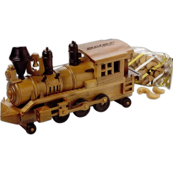 Personalized Praline Pecans in Train Engine