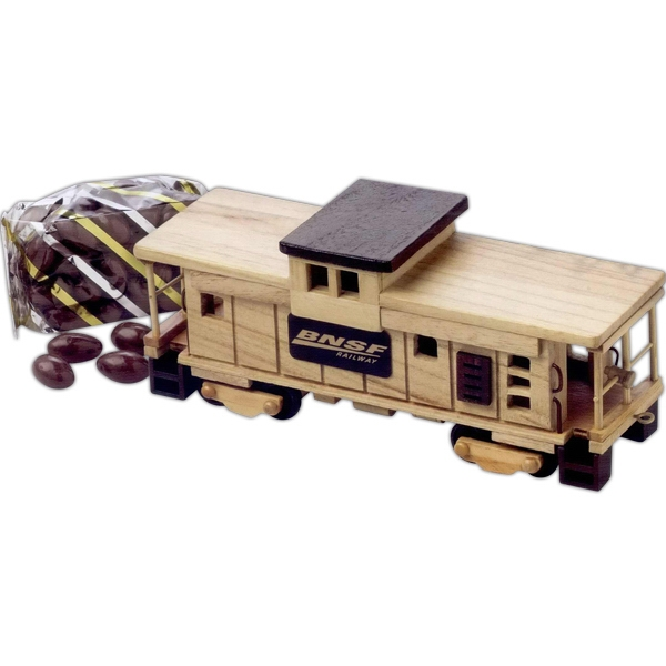 Personalized Pistachios Train Caboose