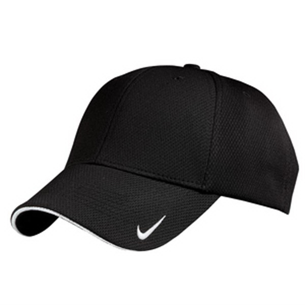 Custom Nike Golf (R) Dri-Fit mesh swoosh flex sandwich cap