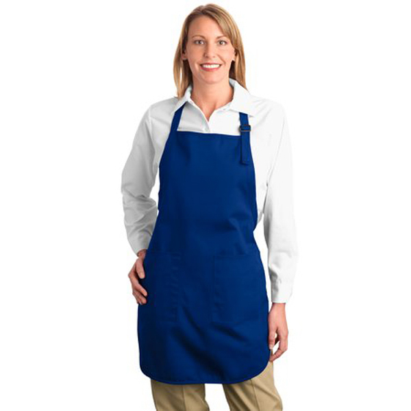 Printed Port Authority® full length apron with pockets