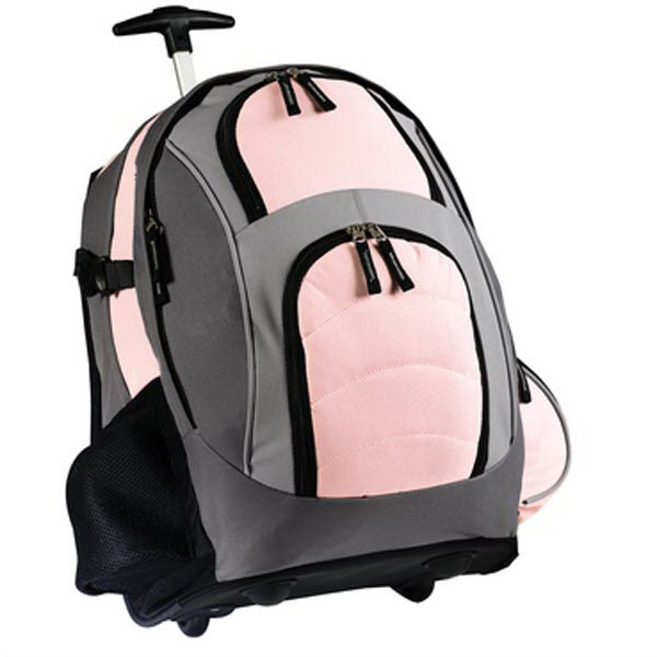 Custom Port Authority® wheeled backpack