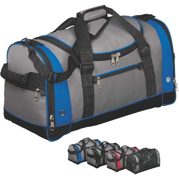Printed Port Authority® voyager sports duffel