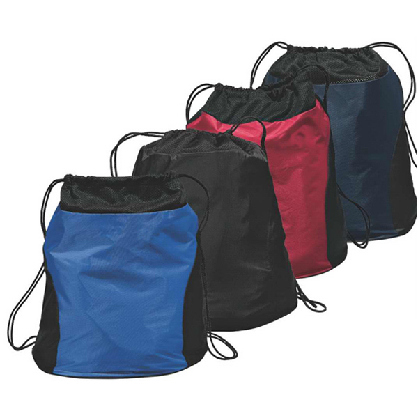 Personalized Port Authority® two-tone cinch pack