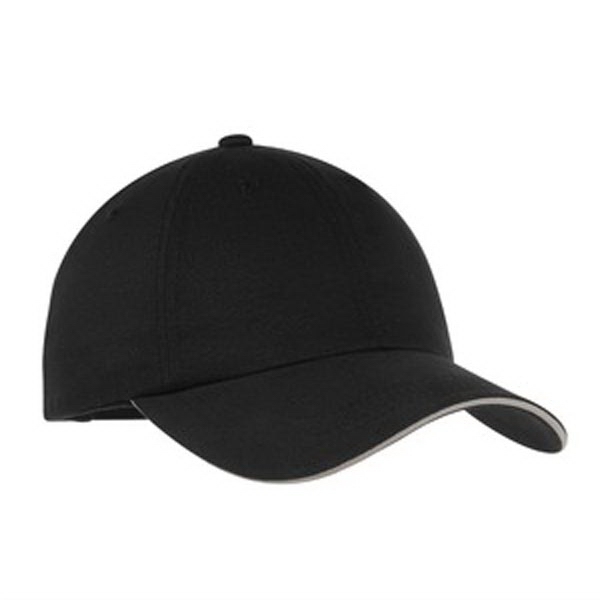 Customized Port Authority® reflective sandwich bill cap