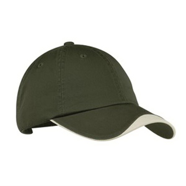 Promotional Port Authority® chevron curved cap