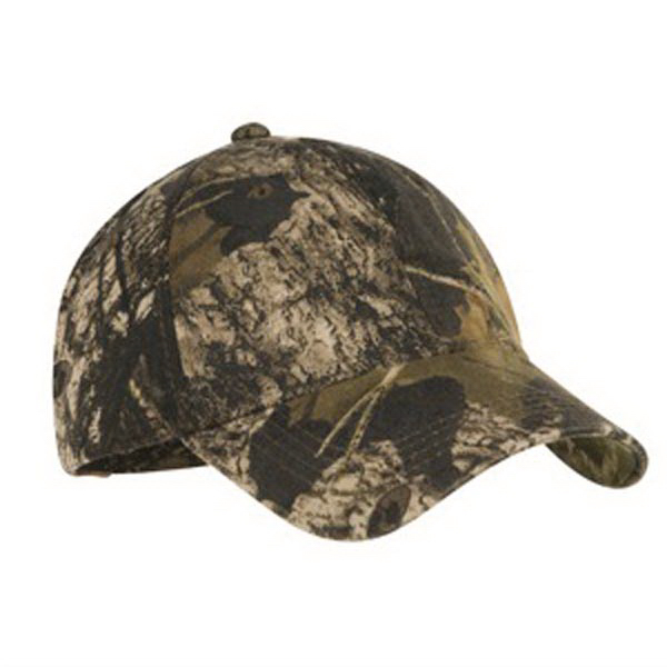 Custom Port Authority® pro camouflage series garment washed cap