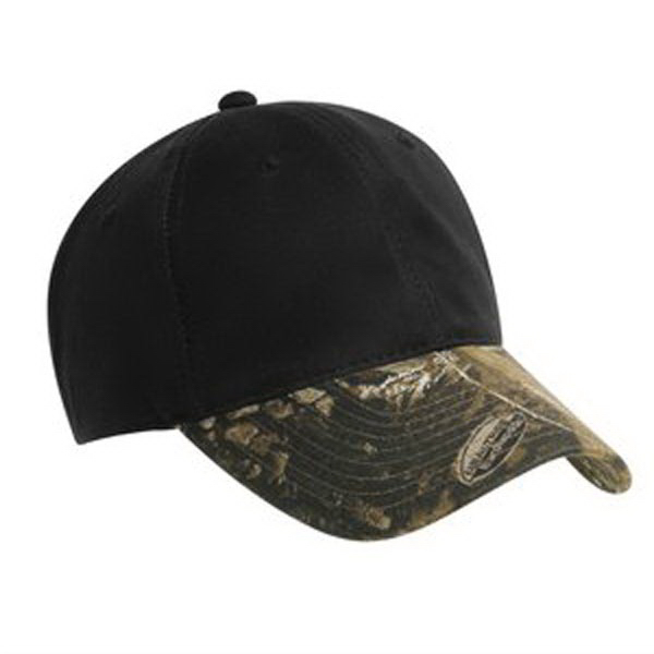 Custom Port Authority® pro camouflage series cotton waxed cap