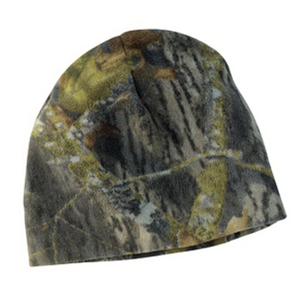 Customized Port Authority® Mossy Oak® fleece beanie