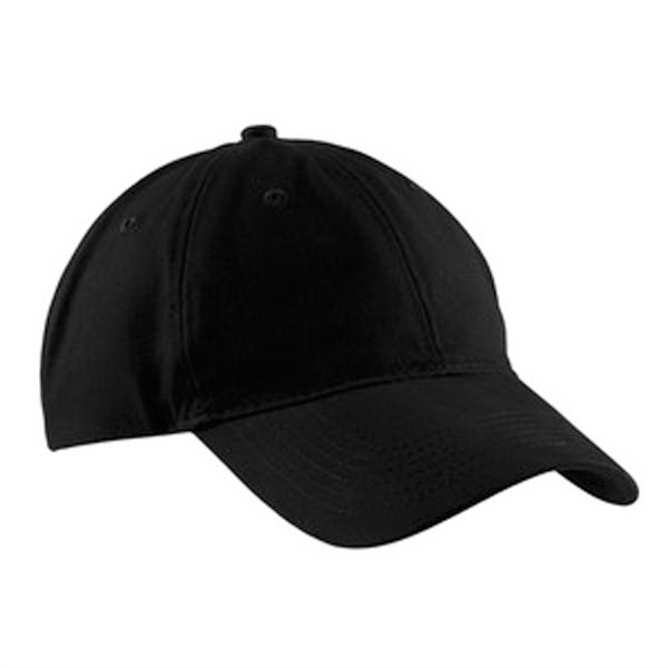 Customized Port & Company® brushed twill low profile cap