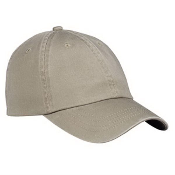 Printed Port & Company® washed twill cap