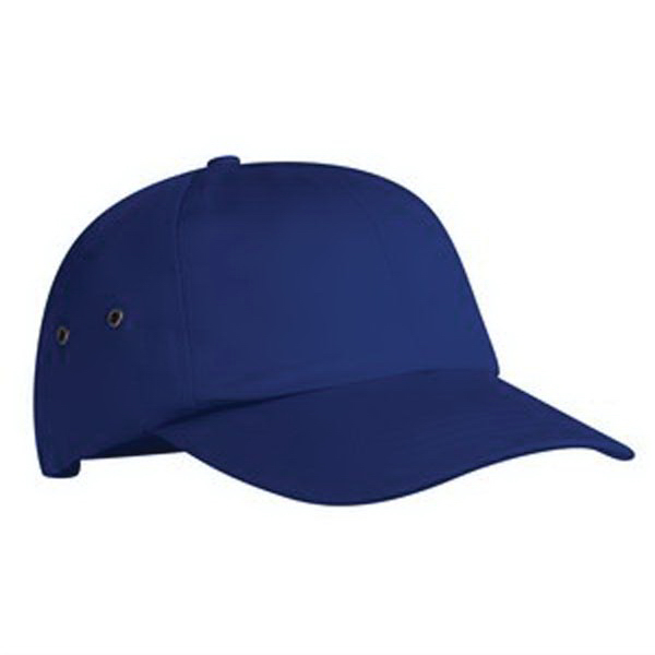 Custom Port & Company® fashion twill cap with metal eyelets