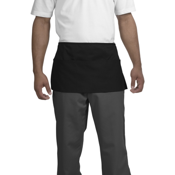 Printed Cornerstone® waist apron with three pockets