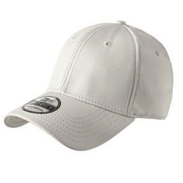 Customized New Era® structured stretch cotton cap