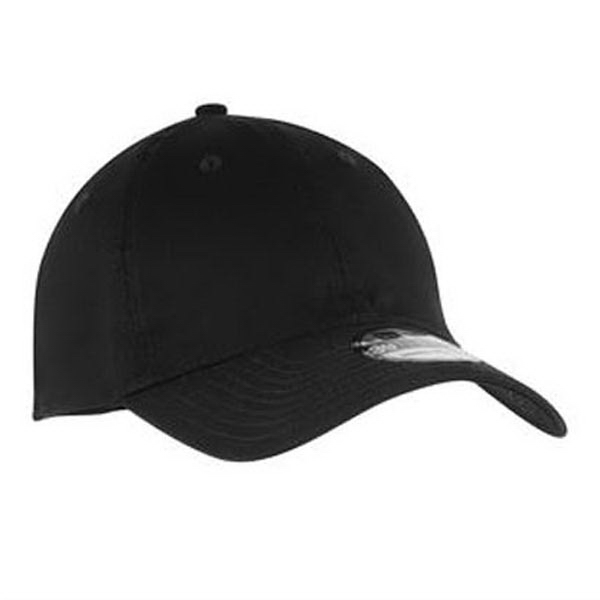 Imprinted New Era® Unstructured stretch cotton cap