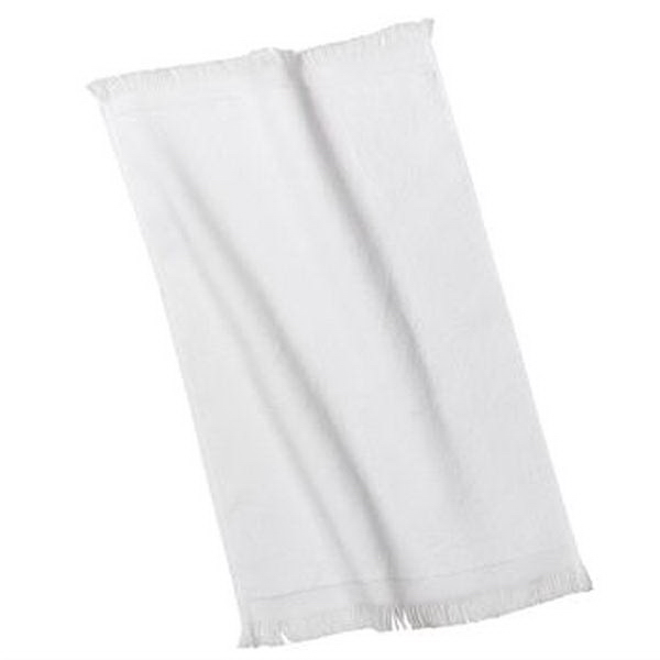 Imprinted Port & Company® fingertip towel