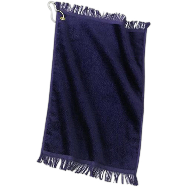 Promotional Port & Company® grommeted fingertip towel