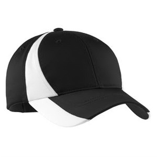Promotional Sport-Tek® Dry Zone (TM) nylon colorblock cap
