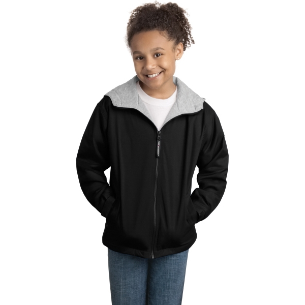 Imprinted Port Authority® Youth team jacket