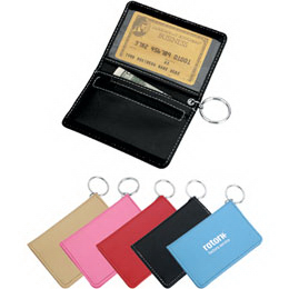 Personalized Bi-fold wallet with key ring