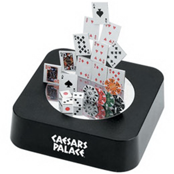 Personalized Magnetic Poker Sculpture Block