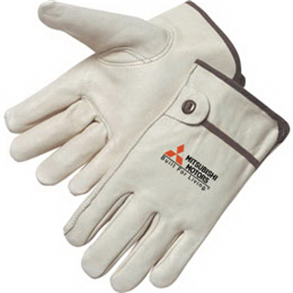 Promotional Grain Cowhide Driver Gloves