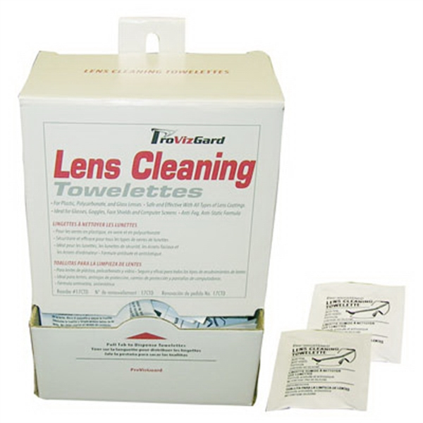 Promotional Lens Cleaning Pre-Moistened Towelettes