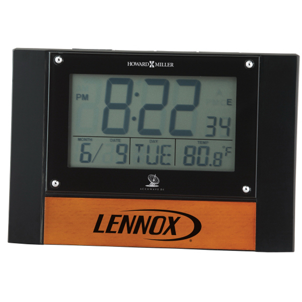 Personalized Anaston Accutech Desk Alarm Clock