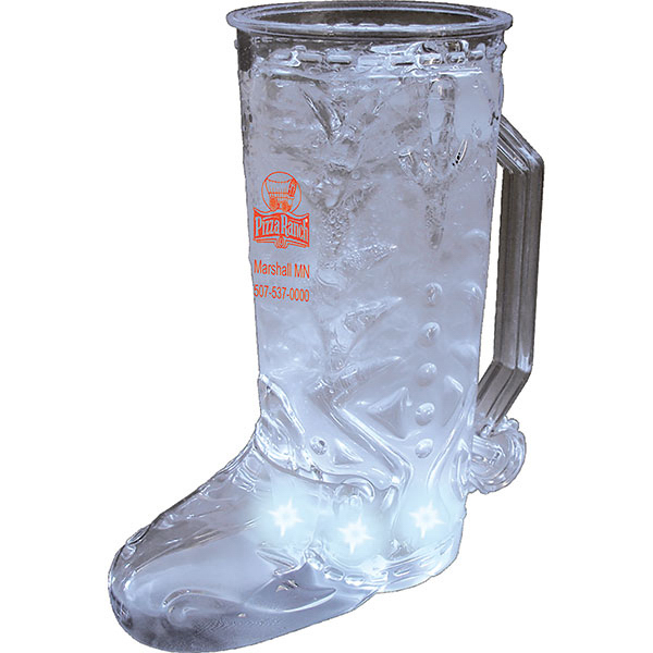 Printed 20oz 5-Light Cowboy Boot Mug