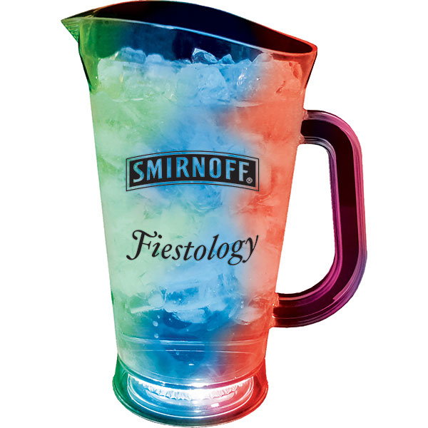 Customized 60oz/70oz 3-Light Pitcher