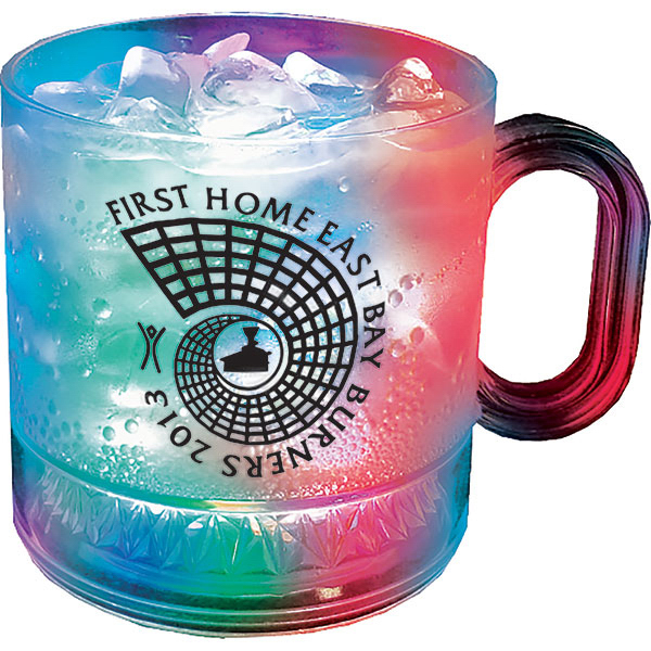 Imprinted 12oz 3-Light Coffee Mug