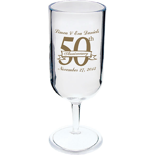 Printed 2oz Champagne Glass