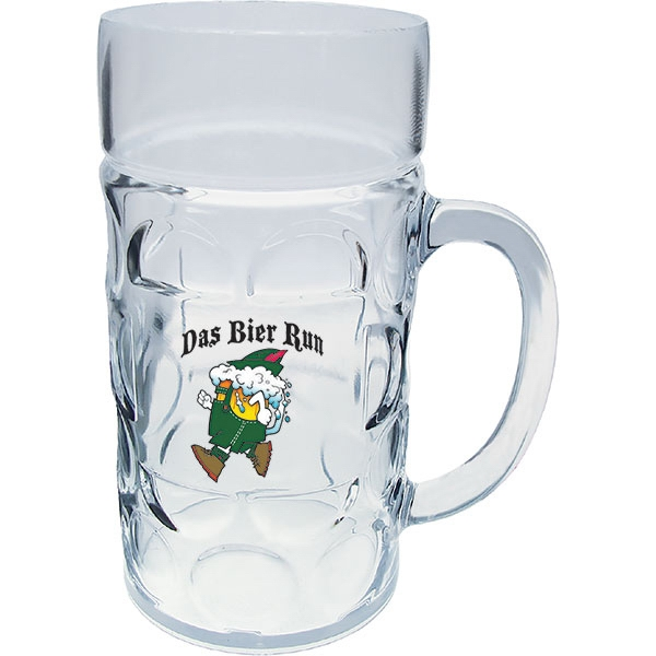Personalized 1 Liter German Beer Mug