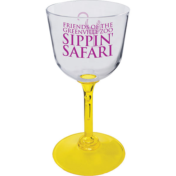 Customized 7oz Wine Glass