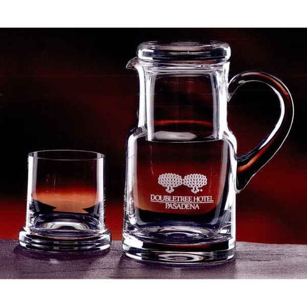 Imprinted Executive Water Set