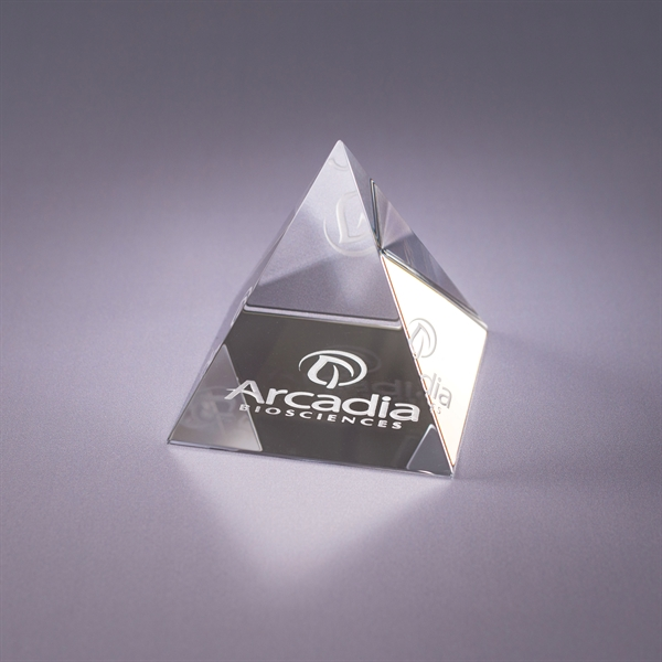 Promotional Pyramid Paperweight