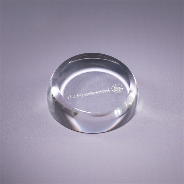Imprinted Insignia Paperweight
