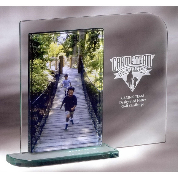 """Customized 4"""" x 6"""" Mainliner Picture Frame"""