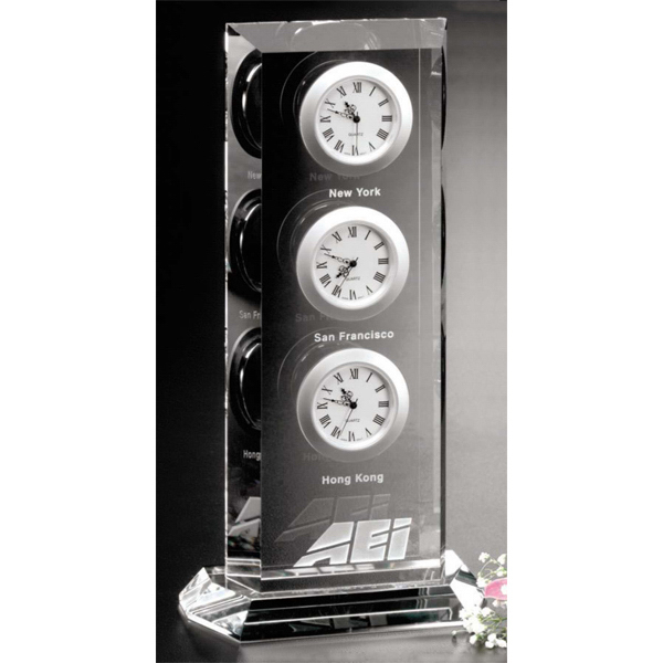 Promotional Trilogy Clock Award