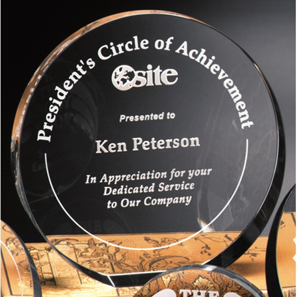 Personalized Elite Circle Award