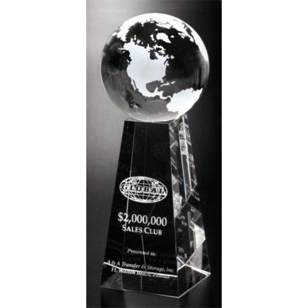 Custom Tapered Globe Award