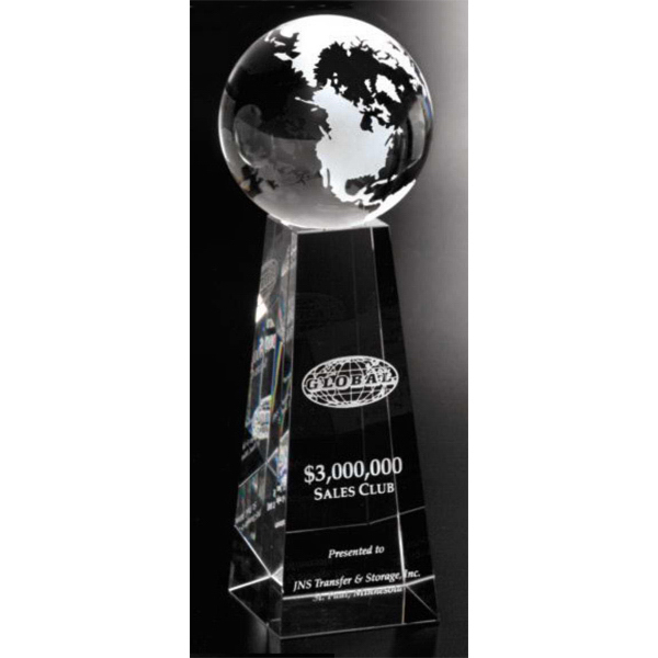 Customized Tapered Globe Award