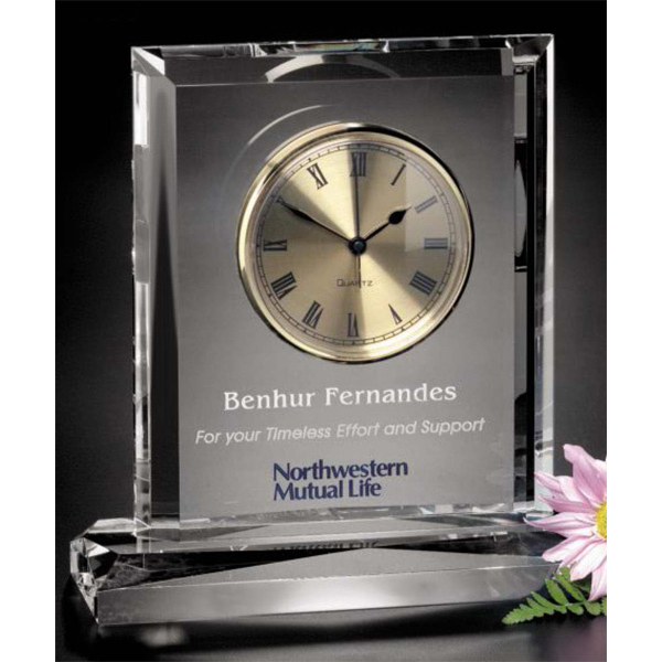 Printed Vector Clock Award