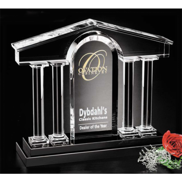 Custom Barona Crystal Award