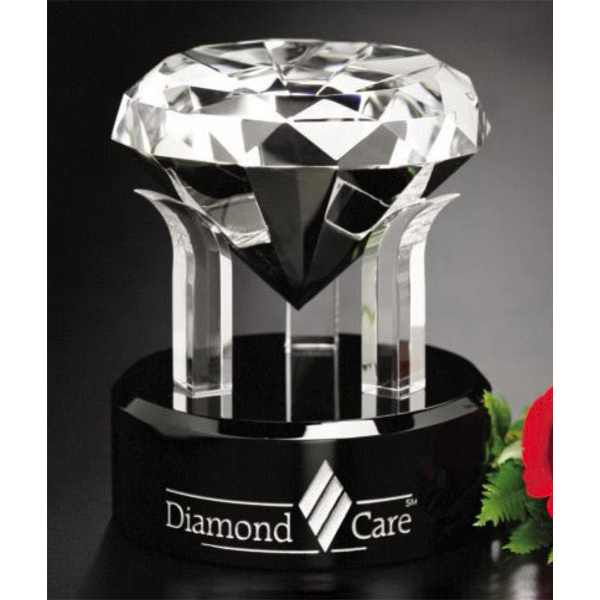 Personalized Radiant Diamond Award