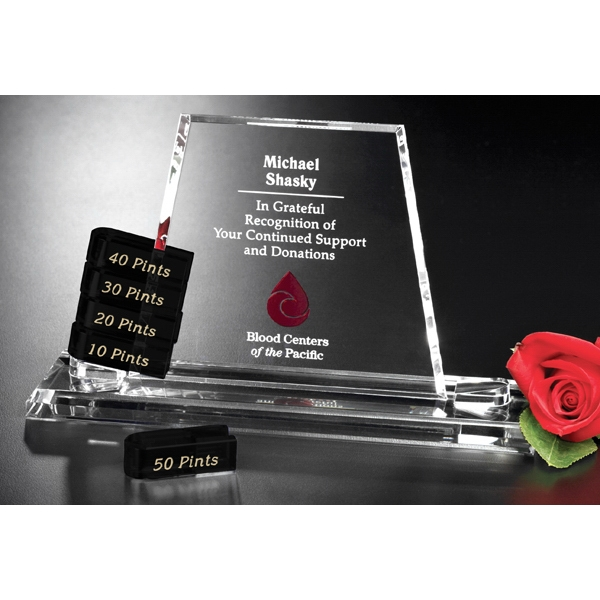 Promotional Alliance Goal-Setter Crystal Award
