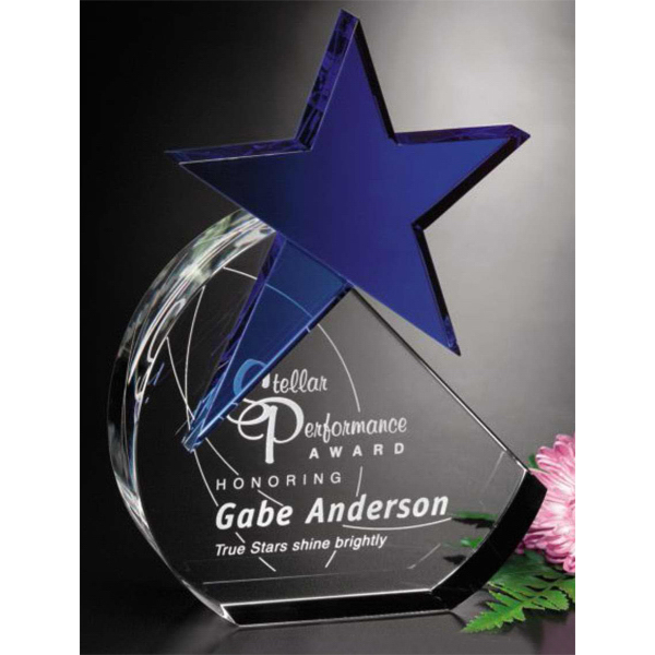 Imprinted Cerulean Star Award