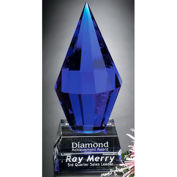 Custom Azure Diamond Award