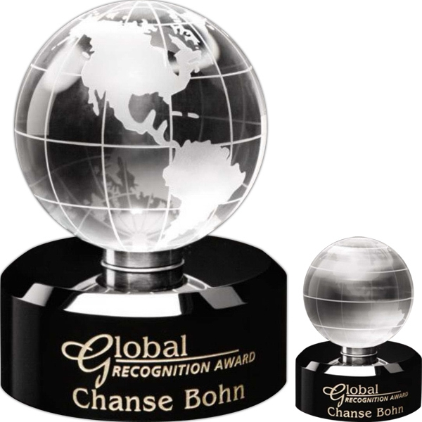 Personalized Awards in Motion (R) Globe